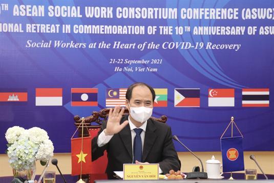 Hội nghị Hiệp hội Nghề Công tác xã hội ASEAN (ASWC) lần thứ 10 và Kỷ niệm 10 năm Hội nghị ASWC