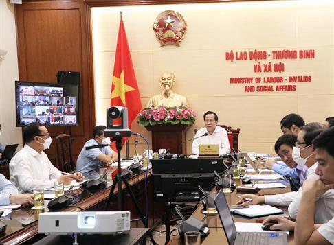 Bộ trưởng Đào Ngọc Dung: Tập trung khôi phục, phát triển thị trường lao động sau đại dịch COVID-19