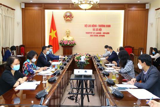 Thứ trưởng Lê Văn Thanh tiếp Đại sứ Hàn Quốc