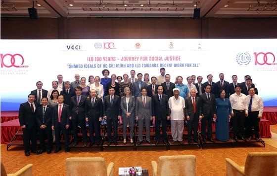 Lễ kỷ niệm 100 năm ILO và Tư tưởng Hồ Chí Minh về lao động và an sinh xã hội