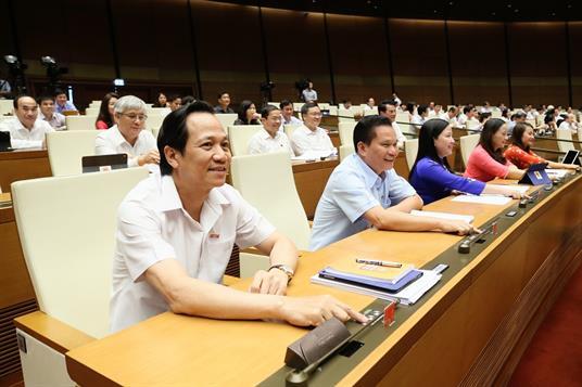 Quốc hội thông qua Nghị quyết phê chuẩn việc gia nhập Công ước số 98