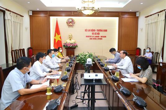 Thứ trưởng Thanh tiếp Đại sứ đặc mệnh toàn quyền - Trưởng phái đoàn Việt Nam tại EU