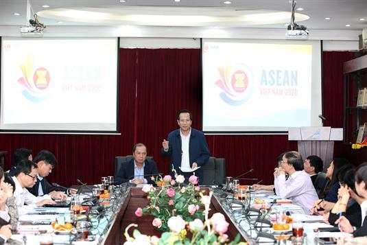 Phiên họp lần thứ nhất Ban tổ chức ASEAN 2020 của Bộ Lao động – Thương binh và Xã hội