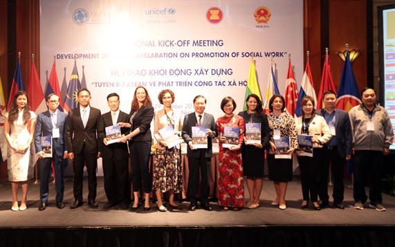 """Hội thảo khởi động xây dựng """"Tuyên bố ASEAN về phát triển công tác xã hội"""""""